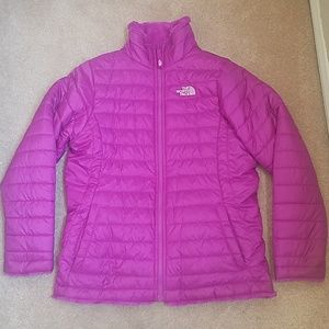 The North Face reversable jacket